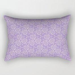 Lavender Victorian Lace Rectangular Pillow