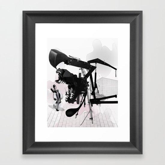 WEAKLY Framed Art Print