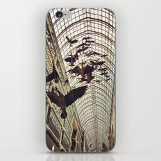 bird christmas shopping iPhone & iPod Skin
