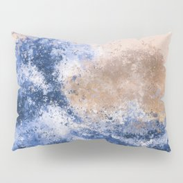 The Great Wave Inspired Abstract Painting Pillow Sham