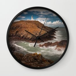 Strumble Head Lighthouse Wall Clock