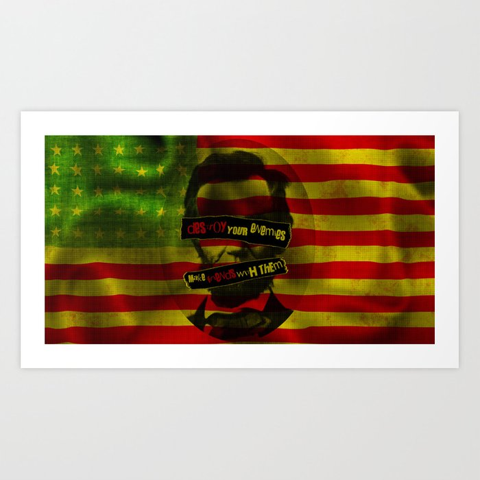 Anarchy in the USA Art Print