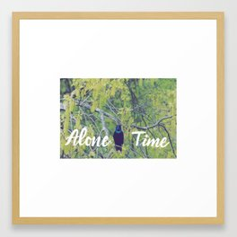 Alone Time Framed Art Print