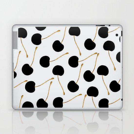 Black Cherries Laptop & iPad Skin