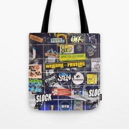 Urban Favelas Tote Bag