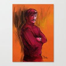 BRONSON VERSION 1 Canvas Print