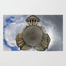 Stéréographique Panthéon, Paris Rug