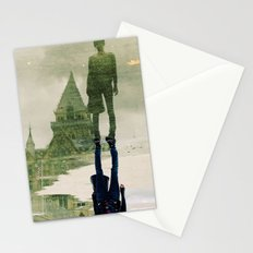 the fountain. Stationery Cards