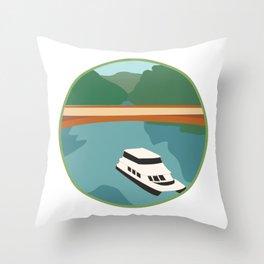 Cataract Gorge, Tasmania Throw Pillow