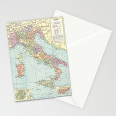 Vintage Italy Stationery Cards