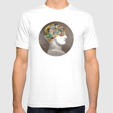 Phrenology SMALL White Mens Fitted Tee