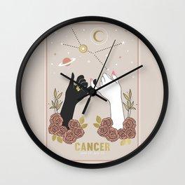 Cancer Zodiac Series Wall Clock
