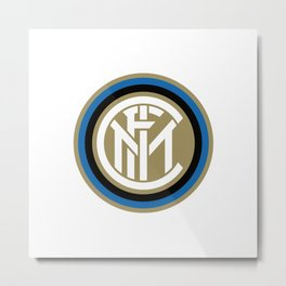InterMilan Metal Print
