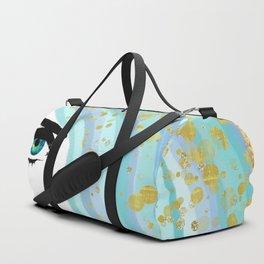 Francesca Has Mermaid Hair Duffle Bag