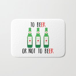 To BEer ot not to BEer Bath Mat