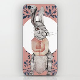 Loony Rabbit iPhone Skin