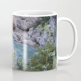 Walking by the river Coffee Mug
