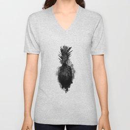 Pineapples BLCK Unisex V-Neck