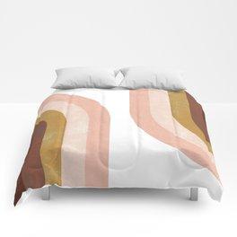 Double Vintage Rainbow Comforters