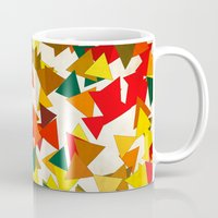 the lights Mugs featuring Lights by SensualPatterns