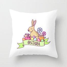 Ostara Throw Pillow