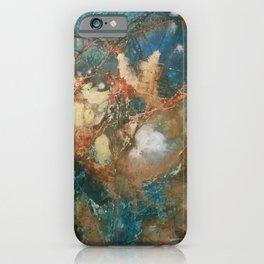 Copper Splash iPhone Case