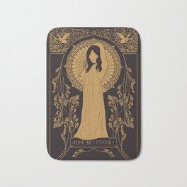 Reine des Cygnes (Gold) Bath Mat