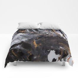Something Completely Unlike Marble Comforters