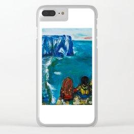 Etretat Clear iPhone Case