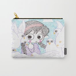 laputa howl moving castle Carry-All Pouch