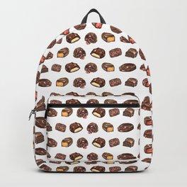 Watercolor Chocolate Truffles Backpack