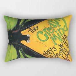 Butterfly  ( The Creative Mind) Rectangular Pillow