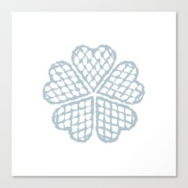 The Waffle Canvas Print