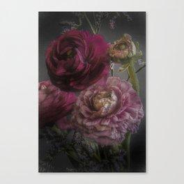 Ranunculus and Romance Canvas Print