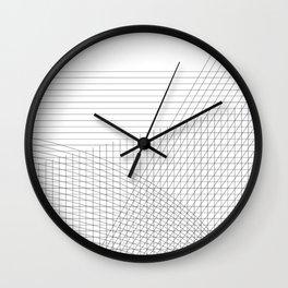 Grids Wall Clock