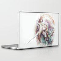 unicorn Laptop & iPad Skins featuring Unicorn by beart24