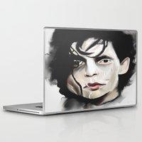 edward scissorhands Laptop & iPad Skins featuring Edward Scissorhands by Catheriney