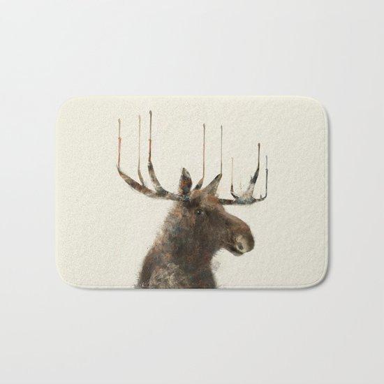 the moose Bath Mat