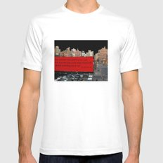 Soon-Park-Car MEDIUM White Mens Fitted Tee