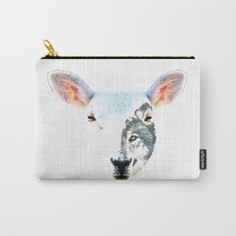 A Wolf In Sheep's Clothing by Sharon Cummings Carry-All Pouch
