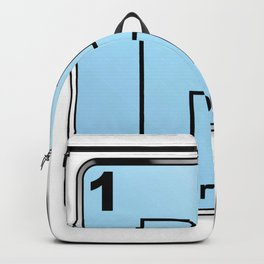 Hydrogen From The Periodic Table Backpack