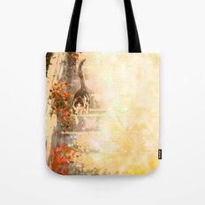 Cat's Stroll Tote Bag