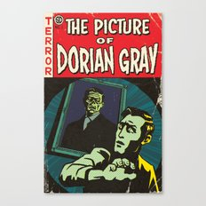 Oscar Wilde's Dorian Gray: Vintage Comic Cover Canvas Print