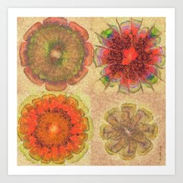 Nonpacificatory Structure Flowers  ID:16165-075207-87310 Art Print
