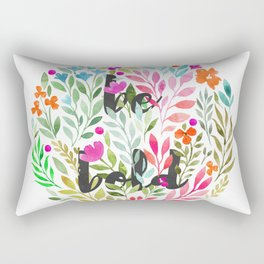 Be bold V1 - Just be Collection Rectangular Pillow