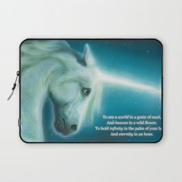 Eternity Unicorn - Divine Being of Purity, Innocence & Magical Power Laptop Sleeve