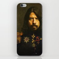 mario iPhone & iPod Skins featuring Dave Grohl - replaceface by replaceface