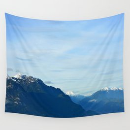 Over the Mountains Top Wall Tapestry