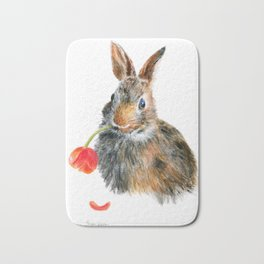 """Trouble"" by Teresa Thompson Bath Mat"