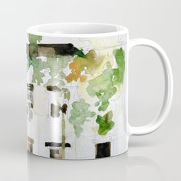 Brownstones and Tree Coffee Mug